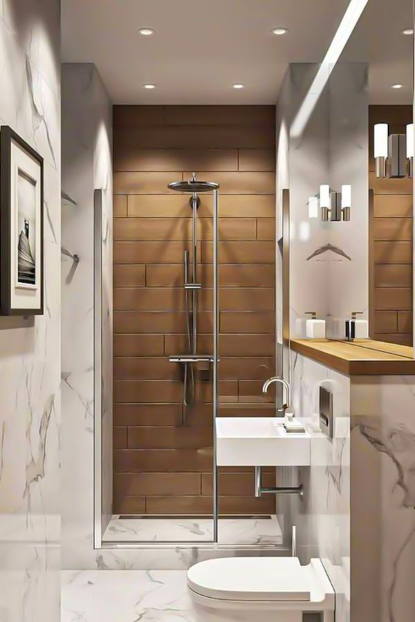 37 Cool Small Bathroom Designs Ideas For Your Home Page 33 Of 37 Lasdiest Com Daily Women Blog In 2020 Bathroom Design Small Small Bathroom Small Bathroom Makeover