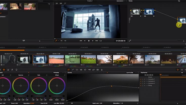 Easy film look TRICK in DaVincI Resolve. The tools for precise color grading are…
