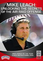 Mike Leach: Unlocking the Secrets of the Air Raid Offense - with Mike Leach, Washington State Head Coach Washington State Head Coach Mike Leach is widely known for developing the Air Raid offense with Hal Mumme. In 2013, only his second season at Washington State, Leach's team ranked fourth in the nation in passing offense and went to a bowl game for the first time in ten years. At Texas Tech, his offense led the nation in passing six times in 10 seasons.