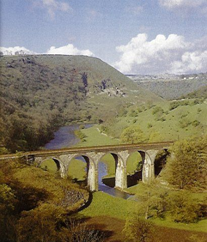 Ride from Bakewell to Wyedale on the Monsal Trail over the Monsal Head viaduct…
