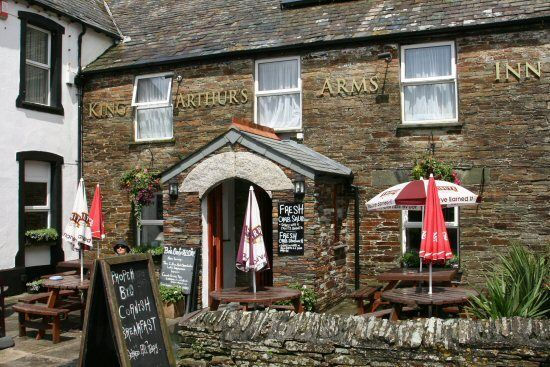 King Arthurs Arms - Tintagel - Cornwall