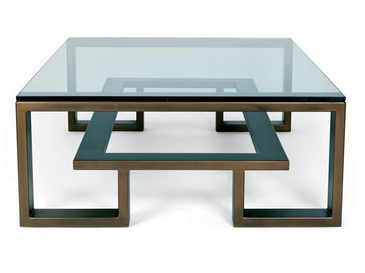 S All Brooklyn Coffee Table Old Penny Bronze Or Mirror Polished Stainless Steel