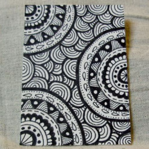 how to draw cute aztec designs