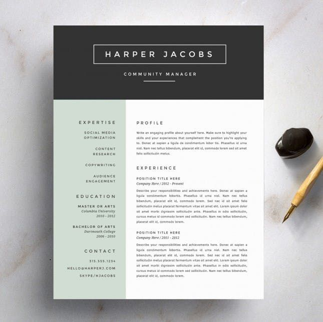 The 25+ Best Resume Fonts Ideas On Pinterest Resume Ideas   Best Font To Use  Fonts To Use For Resume