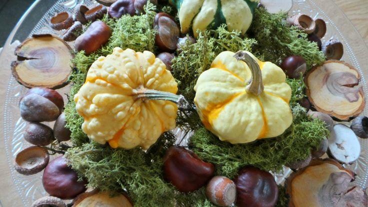 Herbstdekoration Im Glas : Schnelle Herbstdeko Deko Pinterest