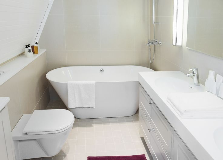 White Small Bathroom Remodeling