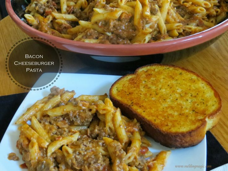 Bacon Cheeseburger Macaroni Recipes — Dishmaps