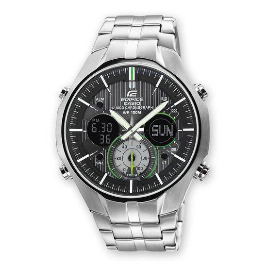 Casio Edifice EFA-135D-1A3VEF - Horloge - Staal - Zilverkleurig - 21 mm