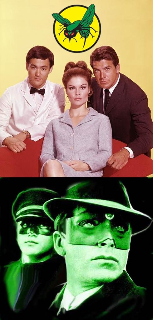 The Green Hornet (1966-67, ABC) — starring Van Williams as The Green Hornet/Britt Reid, Bruce Lee as Kato & Wende Wagner as Casey Case (Reid's secretary).