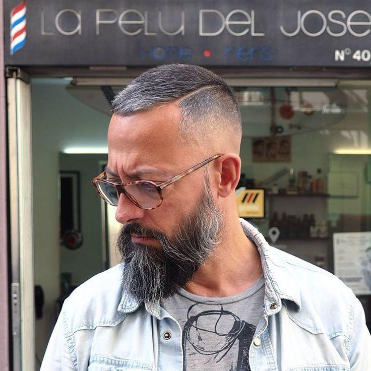 "Men's Hair & Beard fashion |AM on Instagram: ""Cambio de look bomba para el maestro @lapeludeljose  estamos activos!!! #Barber #Barbershopconnect #fade #skin #beard #beardgang #thebarberpost #barbersinctv #hair #hairstyle #haircut #cut #fashiorismo #line #pomade #look #new #Barcelona #Barceloneta #Malaga #like #barberlife #internationalbarbers"""