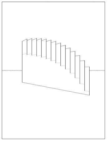 Морда, открытка лесенка шаблон