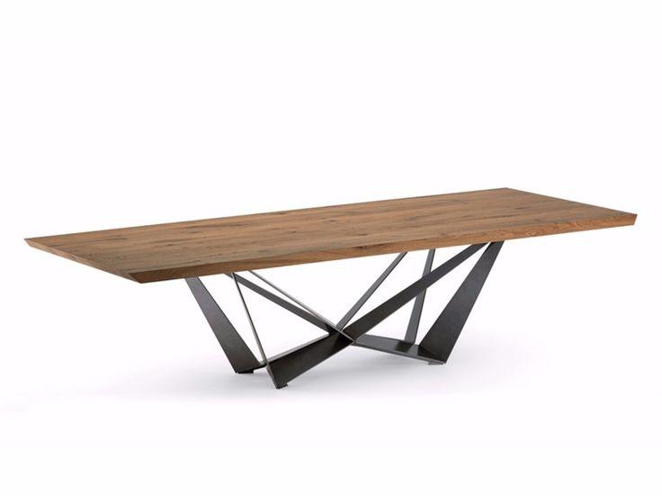 Kataloge zum Download und Preisliste für Skorpio wood by Cattelan Italia, rechteckiger tisch aus holz design Andrea Lucatello, kollektion Skorpio