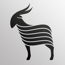 Black Goat Cashmere, a Canadian business that sell cashmere.  #goatvet loves their goat logo