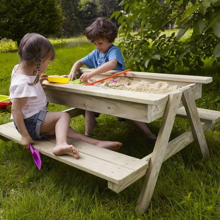 sandbox table for kindergarten