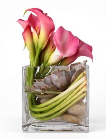 glass vase wedding centerpieces contemporary - Google Search