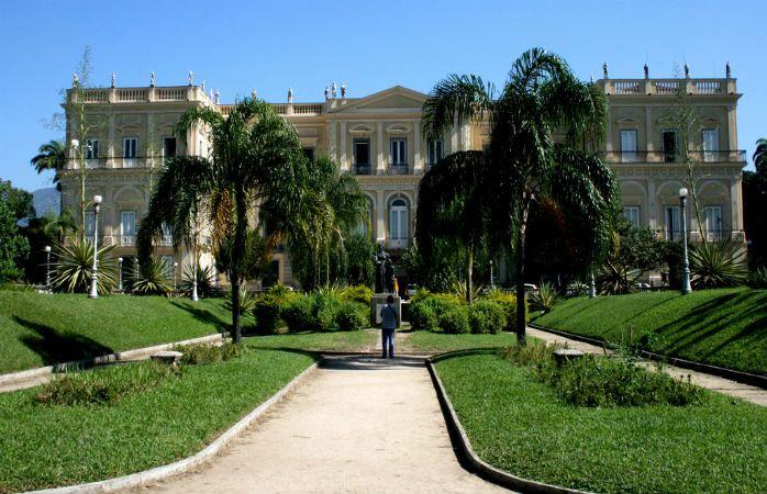 Faça um passeio pela Quinta da Boa Vista, a residência oficial da Família Real Portuguesa no Rio de Janeiro © canoafurada