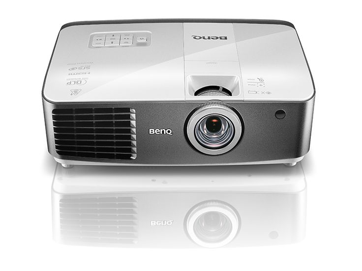 BenQ W1500 Projector – Big Screen Entertainment in Any Room!  The W1500 integrates the latest technology for one of a kind, big screen, at home entertainment enjoyment. As the world's first home projector with built in wireless feature, enjoy Full HD 3D video, frame interpolation for ultra-smooth motion quality, brilliant color performance and the flexibility of placing the projector in any room, regardless of size and brightness! Cable Free and Easy Set-up  World's1st built-in 5GHz Wireless…