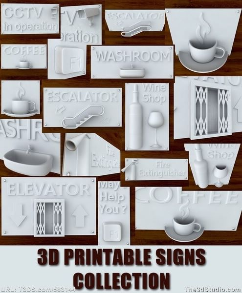 Print ready printable 3d computer model available at The3dStudio.com, the oldest and largest 2D and 3D resource site on the internet. Fast and personal customer service from our own support staff 7 days a week—no autoreply or canned responses.