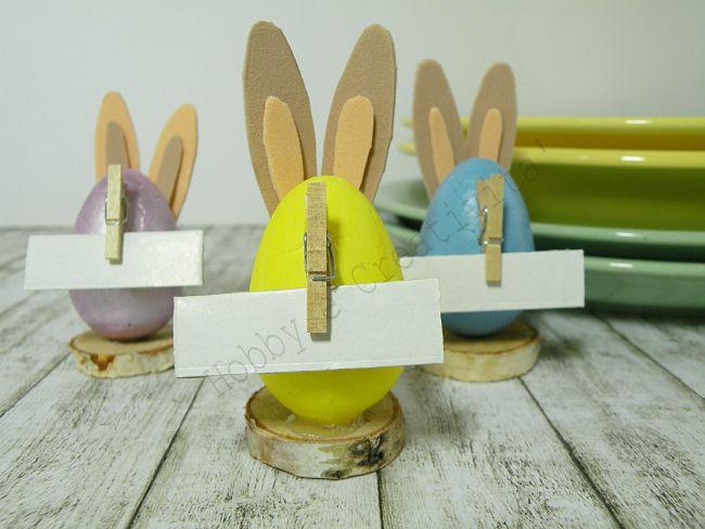 Coniglietti pasquali segnaposto   Hobby e Creatività