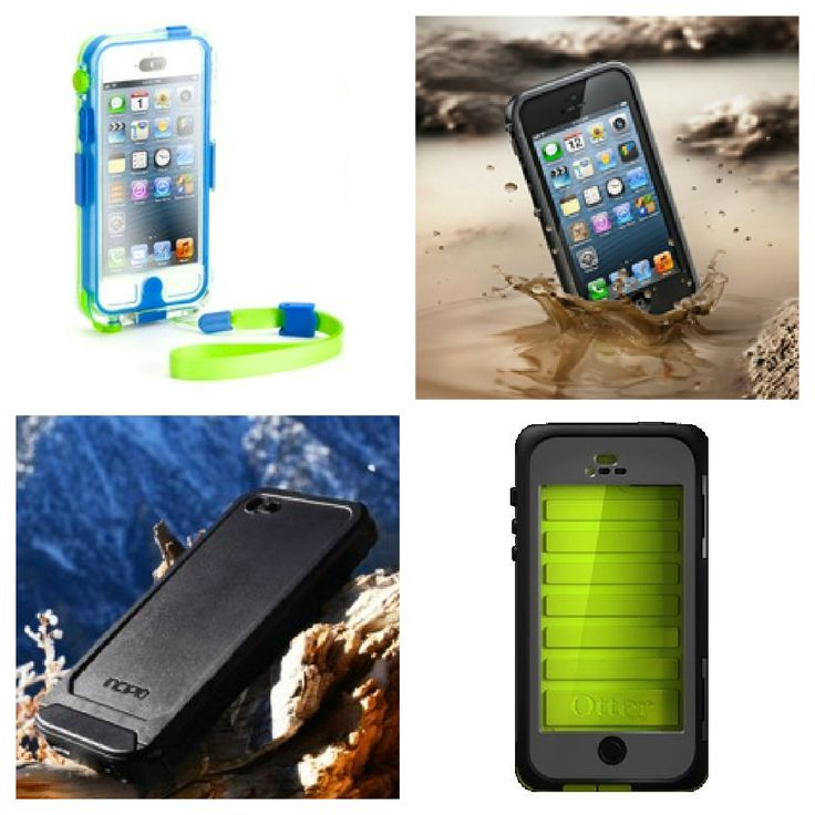 The 4 best waterproof iPhone 5 cases. Like they're made for parents!
