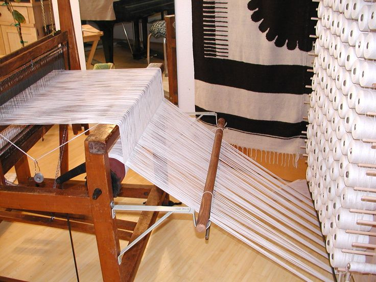 Converting a Loom to a Continuous Warp System   April 2013  How Interesting, something to file away in my head for the future.