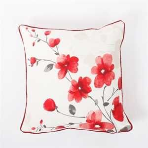Paige Red Cushion Cover