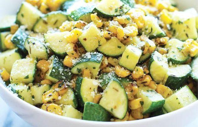 Salată de DOVLECEL și PORUMB - benefică pentru scăderea în GREUTATE și îmbunătățirea VEDERII (rețetă + beneficii) | La Taifas
