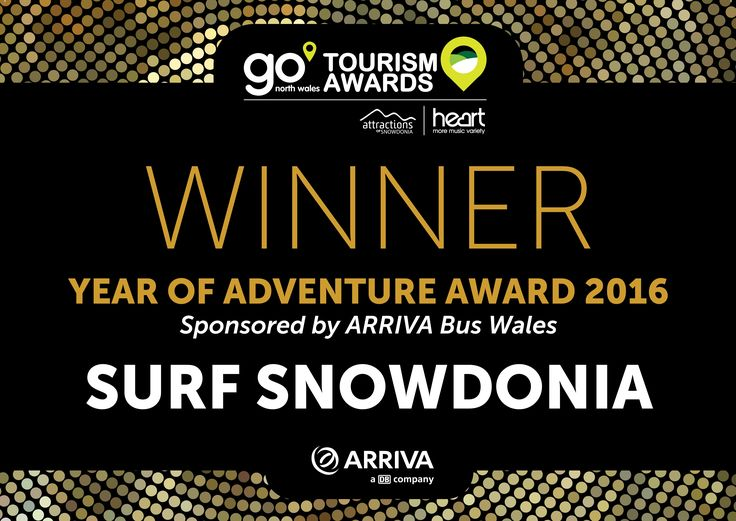 Heart go north wales tourism awards certificate A4