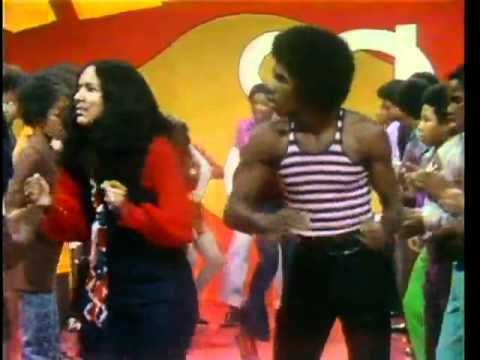 Soul Train LIne Dance to Curtis Mayfield  Get Down....never missed this show and if my Daddy caught ya watching it-WHEW! He was very racist