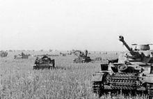 Panzer IVen concentration dans les plaines devant le saillant de Koursk, le 21juin 1943.