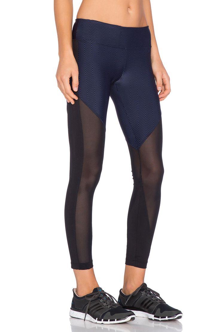 koral activewear Gi Lucent Legging in Navy & Black | REVOLVE