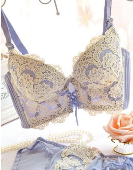 Matching cute lace panty included. All bra and panty sets are in US Sizing. Panties are a S-M. 10% off all lace classics with code: lacegrenade Free Shipping on orders over $50 with code: Uchimada SeeSize and Fitfor more.