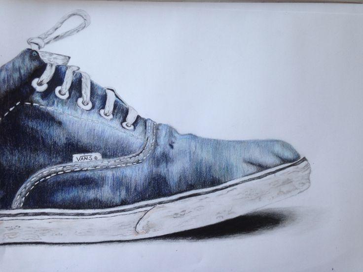 Zeichnung Schuh