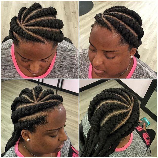 Ghana Weaving Braids Hairstyles 2018 Fashiong4 Hair Styles Rope Braided Hairstyle Hair Styles 2017