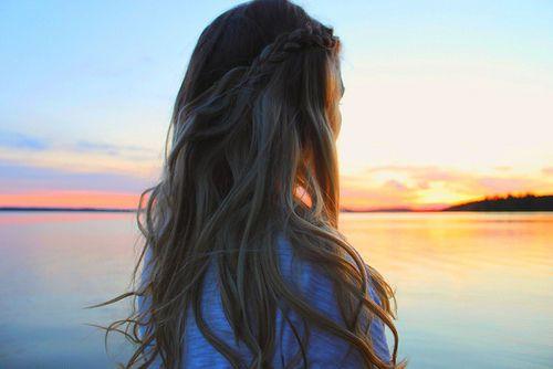 Sunsets & Braids.Hair Beautiful, French Braids, Braids Hairstyles, Beach Waves, Wavy Hair, Beach Braids, Pretty Hair, The Waves, Beach Hair