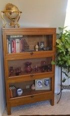 1930's 4 Stack Barrister Bookcase