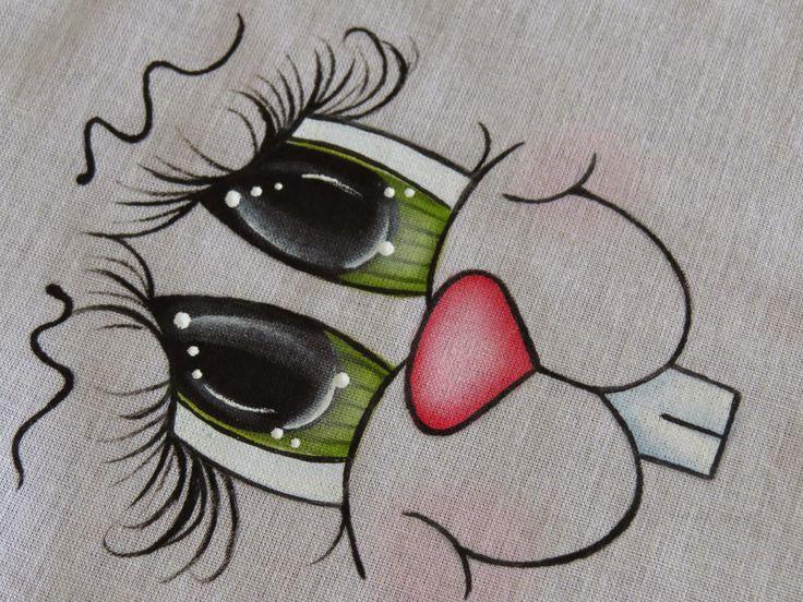 Artes Mariana Santos: Passo a Passo Olhinhos (Olhos verde numero 1)