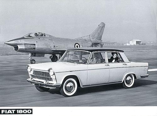Fiat 1.800 y Fiat G91 (1.959)