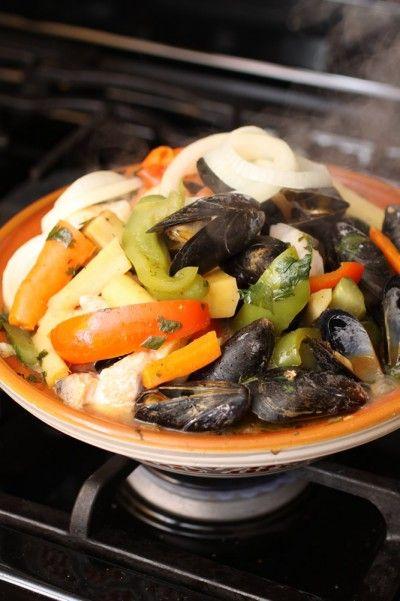 Fruites de Mer – Tagine Cooking