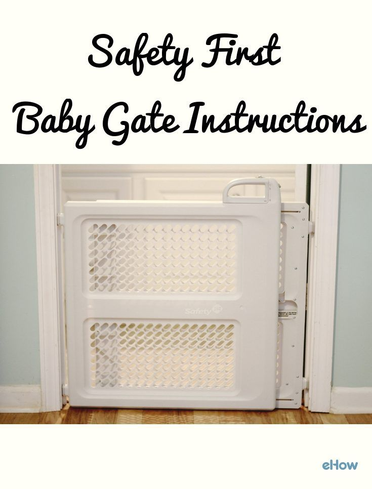 Safety First Baby Gate Instructions (with Pictures) | eHow