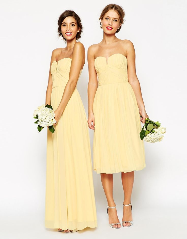 happy yellow bridesmaid dresses