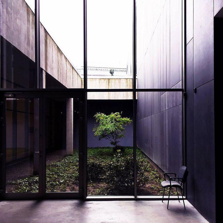 "Polubienia: 46, komentarze: 5 – Magda S (@mag_swiech) na Instagramie: ""#mocak #museum #of #conterporaryart #tree #minimal #minimalism #nature #architecture #geometric…"""