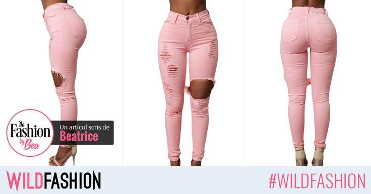 Hola, chicas! Pentru picioare tonifiate o culoare de jeans îndrăzneață este alegerea perfectă. Like dacă îți place sau Share unei prietene căreia i se potrivește.