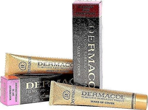 Dermacol Make-up Cover #212 Mid-Brown/Pink For All Skin Types by Dermacol