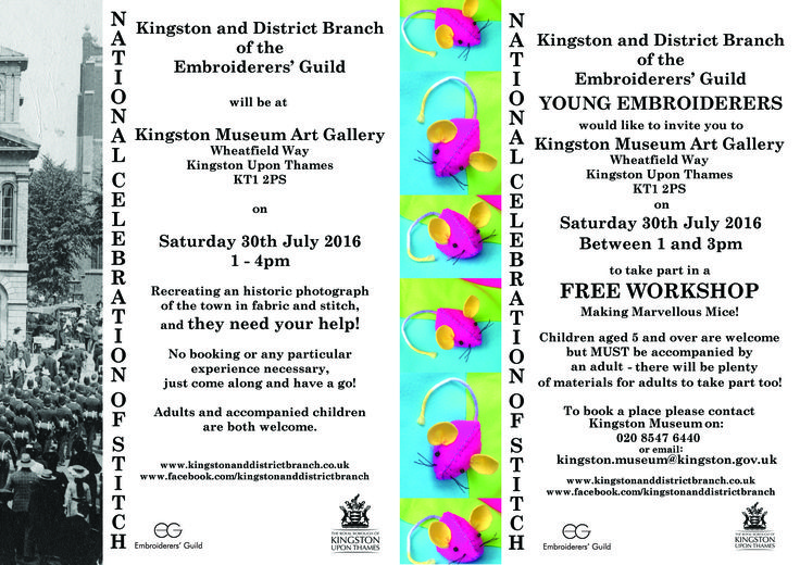 Special Events - Kingston and District Embroiderers' Guild