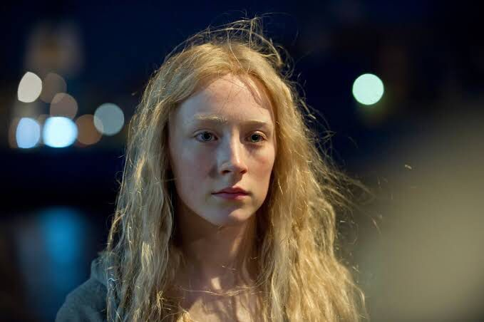 Saoirse Ronan Girls With Red Hair Blue Hair Illustration Hair Illustration