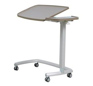 Overbed table with tilting top | Healthcare Furniture | Teal