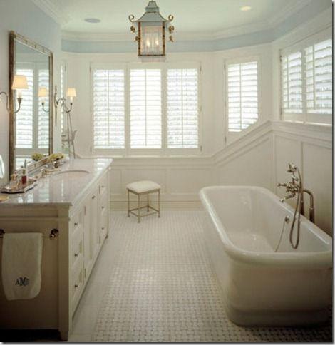 Basketweave Marble Tile Bathroom Floor This Is More Like It A Beautiful Basket Weave Tile On
