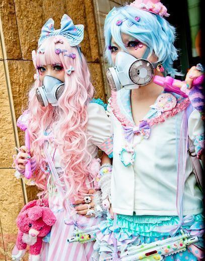 Gas masks cute?                                                                                                                                                                                 More