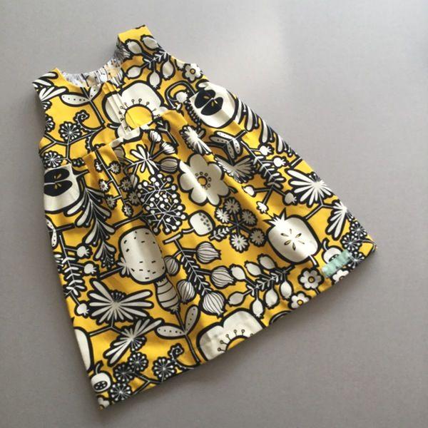 Image of Zara Dress - Pop Art Floral in Yellow